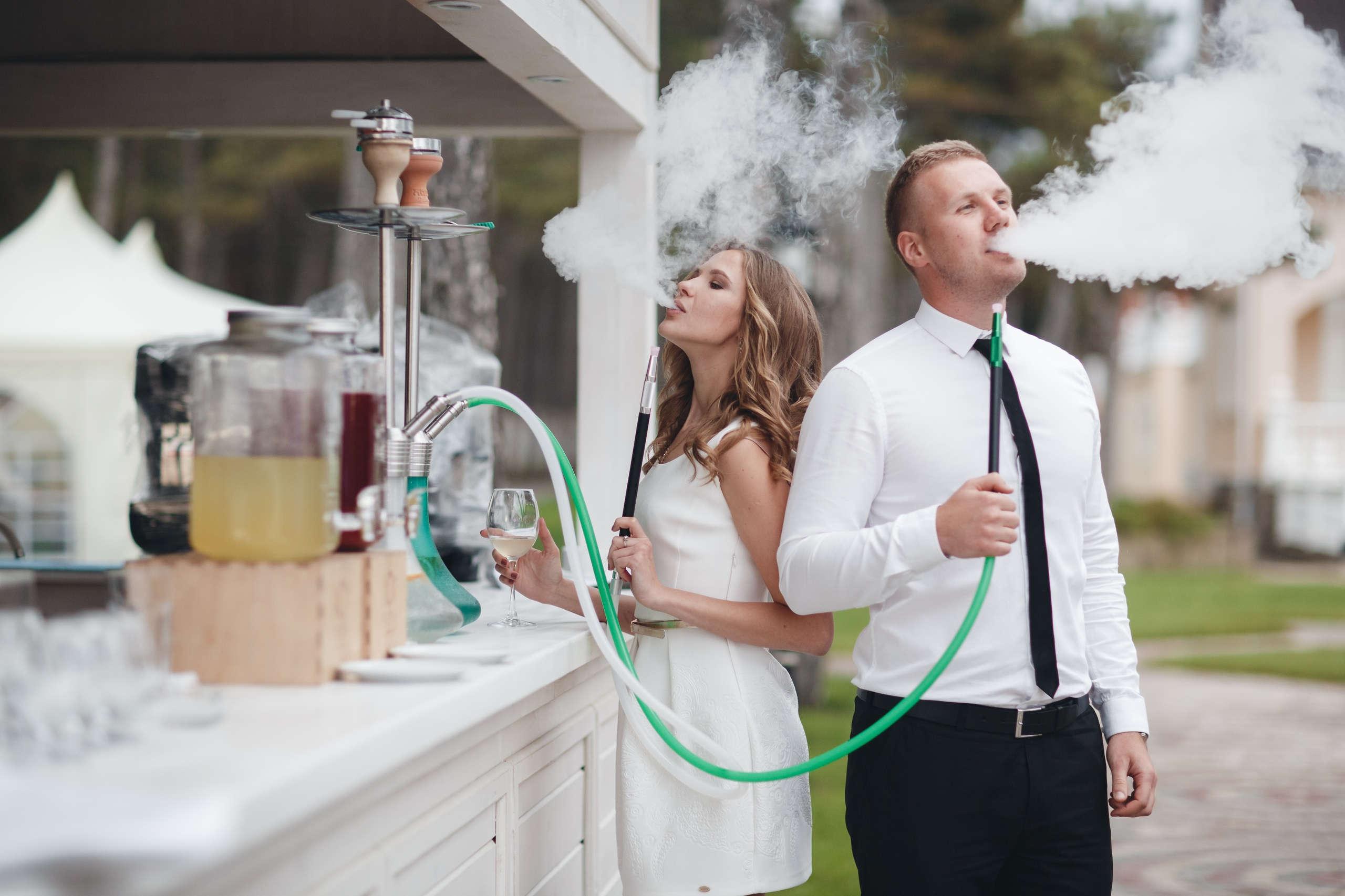 Кальяны с обслуживанием на свадьбу